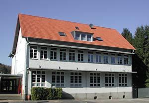 Foto: Schulgebäude am Hüllenweg